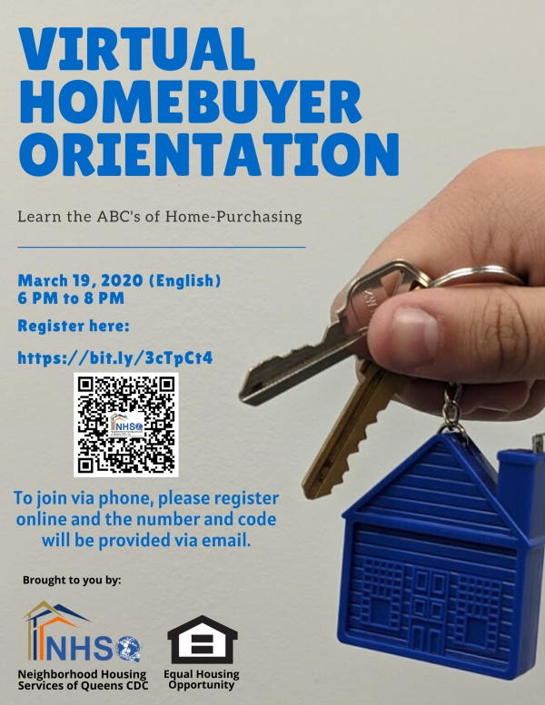 Virtual Home-Buying Orientation - March 19, 2020