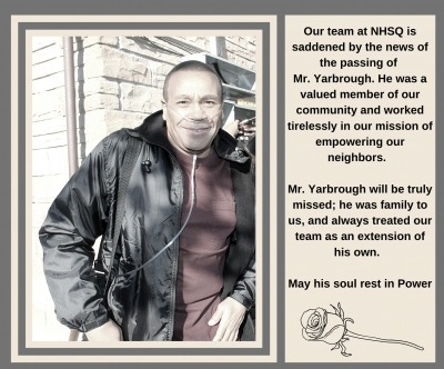 In Memory of Mr. Yarbrough